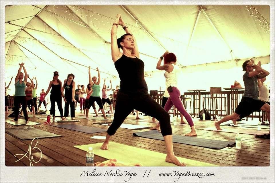 Melissa Nordin // Yoga Festival //  www.YogaBreezes.com