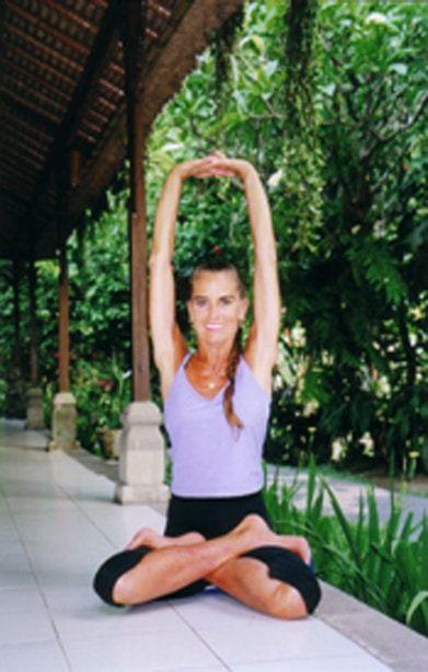 Ann Barros - Padmasana Up Arms Bali Nov.06