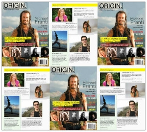 Origin Magazine September 2012 Article Brian Castellani. IndieYoga, Yoganomics